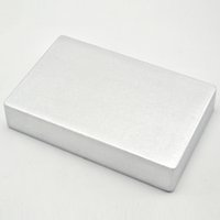 aluminum guitar case - 4S1590DD Style Aluminum Metal Stomp Box Case Enclosure Guitar Effect Pedal
