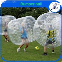 Cheap Wholesale-CE Amazing 1.5m PVC Inflatable Bumper Ball new designed inflatable knocker ball bubble football for sale human hamster ball