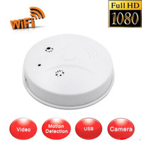 access detectors - Nanny Cam HD WiFi IP Spy Hidden Camera p DVR Smoke Detector Motion Detection