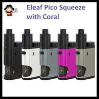 big puts - Original Eleaf iStick Pico Squeeze Mod Best Matching with Coral Atomizer ml Big Capacity thread w Max Out Put