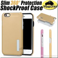 Wholesale iphone s cases Shockproof Armor Hybrid Silicone Case For iphone plus cases Samsung galaxy s6 s7 edge note s5 cover with Retail Box
