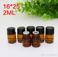 Wholesale Most Popular USA uk ml Amber Brown Color MIni Essential Oil Bottles per Carton Sample Tube Glass Bottles for Personal care