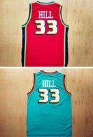 basketball grants - Retro Grant Hill Classic Basketball Jersey Can Mix Order Drop Shipping Size S XXL