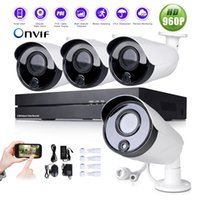 application security system - 4CH H NVR HD P IR Cut PoE Network Outdoor CCTV Security IP Camera System support system reset multipe application scene simple instal