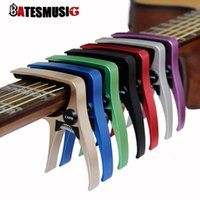 Wholesale Guitar Capo for acoustic and electric guitars Total aluminium material Guitar Accessories