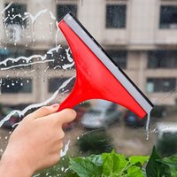 bathroom squeegee - HOT Washing brush Glass Window wiper Soap Cleaner Squeegee Shower Bathroom Mirror floor Car Blade Brush ZH874