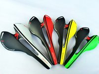 Wholesale Outdoors Cycling Accessory Top Quality Full Carbon Fiber Bicycle Hollot Out Saddle Mountain Front Seat Mat Carbon Breathable Saddle