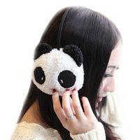 animal earmuffs - Lovely Novelty Earmuffs Panda Style Women Warm Ear Animal Rabbit Protective Gril Plush Winter Keep Warmer Earmuff Pure Cotton