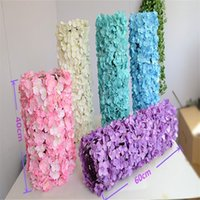 Wholesale 60 cm Hydrangea DIY wedding arch Setting wall decoration Road led flower T stage decorative Photo background Noble Carpet type
