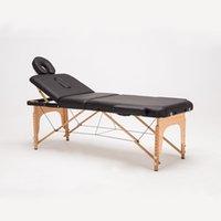adjustable massage tables - Professional Portable Spa Massage Tables Adjustable with Carrying Bag Salon Furniture Wooden Folding Bed Beauty Massage Table