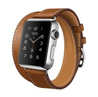 Wholesale 2015 Best Selling extra long iWatch Bands Original iWatch Business Leather Band Fitness Replacement Strap Leather Band For Apple Watch
