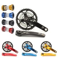 Wholesale Mountain bike speed speed hollow chainring crankset bicycle gear distribution a hollow bottom bracket BB