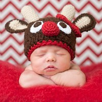 baby deer picture - The most adorable baby full moon pictures per day other Baby Hat Christmas deer HAT NEWBORN photography props