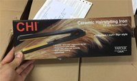 Wholesale 2016 Classical CHI BLACK Hairstyling Flat Iron with Retail Box hair straightener DHL high quality