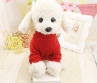 Wholesale New Cute Dog Vest Pet sweater Puppy Shirt Soft Coat Jacket Summer Dog Cat Clothes Dog Apparel Fashion JF