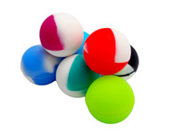 ball holders - ball shape silicone jars dab wax container holder FDA Approved Non stick
