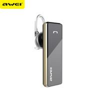 bass business - Original AWEI A850BL mini Bluetooth Earphone Business Stereo Headset Outdoor Bass Wireless HandsFree For iPhone Sony Jiayu Elephone LG