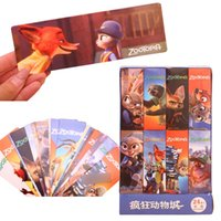 Wholesale Prettybaby zootopia bookmarks box cartoon figure DIY bookmarker styles random ship kids gift desk accessories Pt0425 la