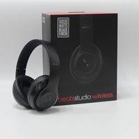 Wholesale 2016 Hot Used Beats Studio Wireless Headphones Noise Cancel Headphones Refurbished Headset with seal retail box Free DHL