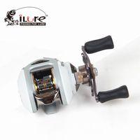 Wholesale ILURE High Quality Gear Ratio Reel g Fishing Reel10pcs drop shipping