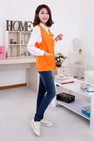 advertising jackets - Fall Hot Selling Vest Men Women Waistcoat Advertising Volunteers Supermarket Cashier Work Vests Sleeveless Jacket Size M XL