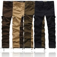 baggy combat trousers - Mens Cargo Pants Fashion Casual Military Army Cargo Combat Work Pants Trousers Baggy Joggers Outdoor Sweatpants