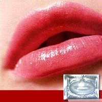 beauty collagen - 20pcs Hot Selling Lip Mask Crystal Collagen Lips Care Pads Lip Mask For Face Care Lip Care Beauty Cosmetics