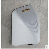 bathroom hand dryers - And Retail Wall Mounted Hand Dryer White ABS Plastic Hand Dryer Machine Bathroom Hotel Hand Dryer