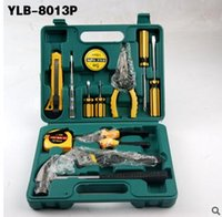 Wholesale 8013p clamp piece multifunctional Vehicle Tool sTool Boxes combined tool kit hardware household tool set