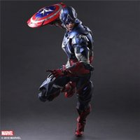 art moving boxes - The avengers alliance Play Arts change PA captain America marvel super hand moving boxes