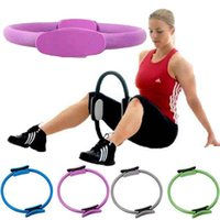 aerobic gymnastics - Fitness Yoga Pilates Ring Magic Resistance Rings Aerobic Gym Gymnastics Circle Yoga Ring Slimming Waist Keep Fit Bodybuilding