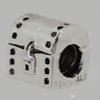beads in vogue - New97 Sterling Silver Box in The Shape Of The Snake Chain Bracelet Jewelry Beads European Style Vogue