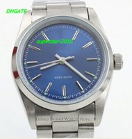 airs fashion watches - NEW Top Quality Luxury Watches HotSale Mens Luxury Brand Blue Dial Automatic Watch Mens Classic Air Fashion King Wist watch Relogio Masculi