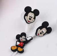 Wholesale Cartoon Mickey Mouse Earphone mm In Ear Wired Earphone Silicone Headphone For MP3 MP4 Player PSP