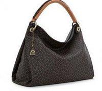 artsy purses - Brand new fashion women pu Leather artsy handbag tote purse tp011