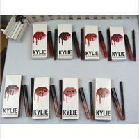 Wholesale New kylie jenner lip kit Lip Gloss Lipstick kylie jenner lipstick Liquid Lipstick Matte Colors Kylie Jenner kylie lip kit