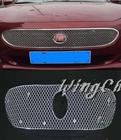 automotive grills - Stainless Steel Honeycomb Automotive Special Metal Plating Racing Grill For Fiat Viaggio