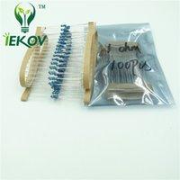 Wholesale 500pcs High Quality ohm W R Metal Film Resistor Ohm W ROHS HOT SALE