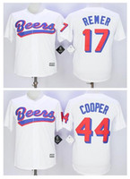 baseketball jerseys - Men s stitched Cheap The BASEketball Beers Movie Doug Remer Joe COOP Cooper BASEketball White Button Baseball Jerseys