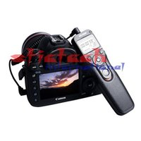 Wholesale 50pcs High quality Time Lapse Intervalometer Timer Remote Control Shutter Release Controller with N3 Cable