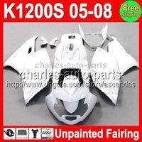 Wholesale Unpainted Full Fairing Kit For BMW K1200S K S K S K1200 S Fairings Bodywork Body