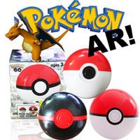 ar doll - Zorn toys Poke go Pokémon plastic Poke Ball action figure doll AR D cartoon Pikachu style