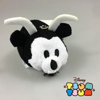 Wholesale New Arrival Tsum Tsum toy mini new style mickey minnie Donald Duck Daisy plush pendant doll for phone