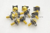 Wholesale Gold mm Universal CNC Motorcycle Accessories Fairing work Bolts Screws for BMW S1000RR R1200R F800GS K1300 S R GT
