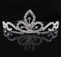 american bridal shops - Wedding Bridal Crown Rhinestone Crystal Decor Headband Prom Diamond Crown Hair Hoop Fashion items Lovely Shop For Women