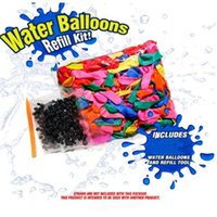 Wholesale Magic Water balloons refill kit Ballons packs children summer holiday toys balloons rubber bands O Ring applicator tool on sale