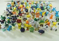 Wholesale 144pcs Set Cute Pikachu Mini figures toys Action Figures cm toys Set