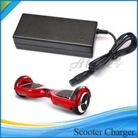battery scooters - Universal Hoverboard Charger Electronic Scooters Battery Charger for smart balance wheel US UK AU EU Plugs V A DHL Free