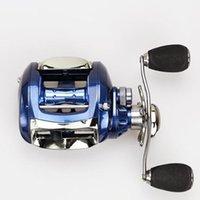 Wholesale New brand baitcasting reel BB ball bearings carp fishing gear Left Right Hand bait casting fishing reel