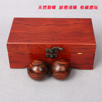 Wholesale Ju Jiahong wood Laos eye care ball fine old material wood piece player health